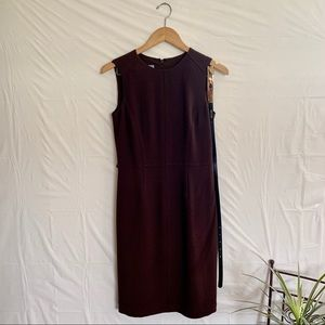 Anne Klein sheath Dress with belt